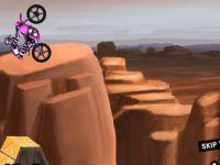 Motorrad Fahrt im Canyon